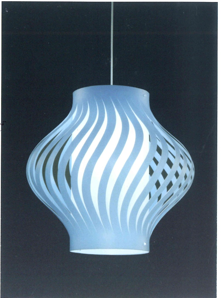 lampadario a sospensione : Lampadario a sospensione LO40924/BLU Idea Luce di Filippi - Carr? ...