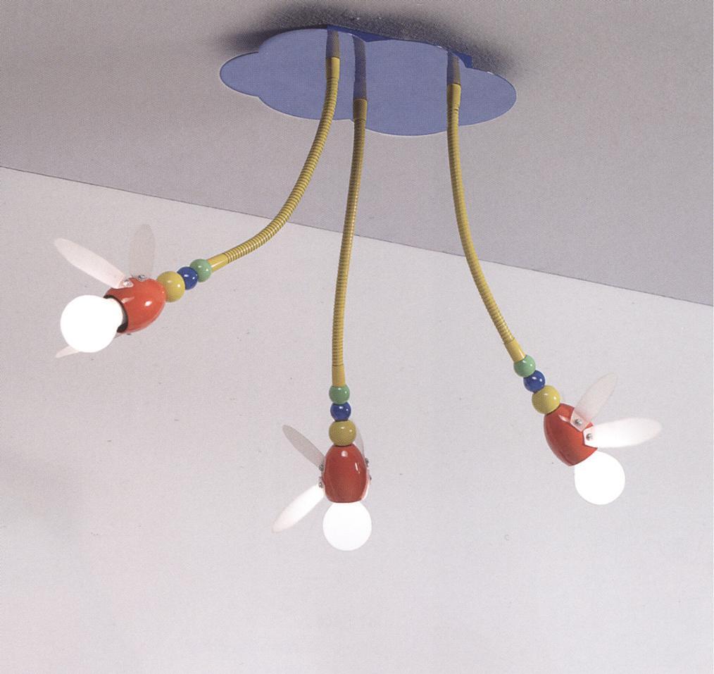 Lampadario perenz 5120 idea luce di filippi carr cuneo - Luci camera bambini ...