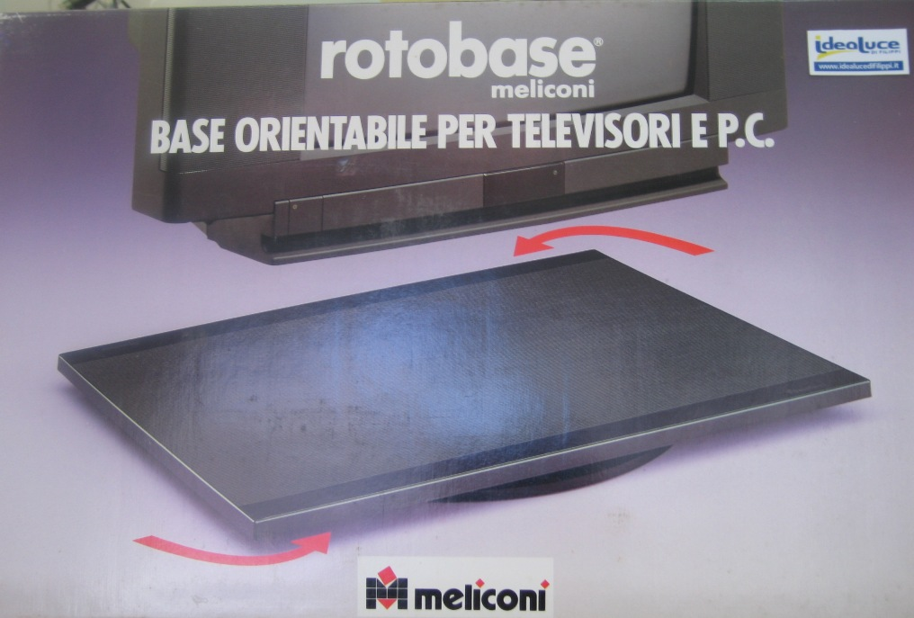 Base girevole per TV MELICONI Idea Luce di Filippi - Carrù(Cuneo)