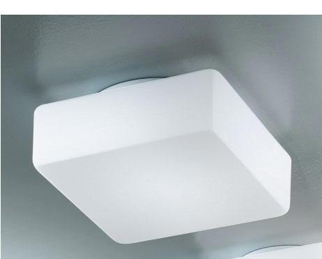 Plafoniere Quadrate Da Parete : Lampada da parete soffitto antea luce krea quadra idea