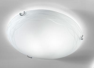 Plafoniere Rotonde Da Soffitto : Lampada soffitto kloe bianca antea luce idea di