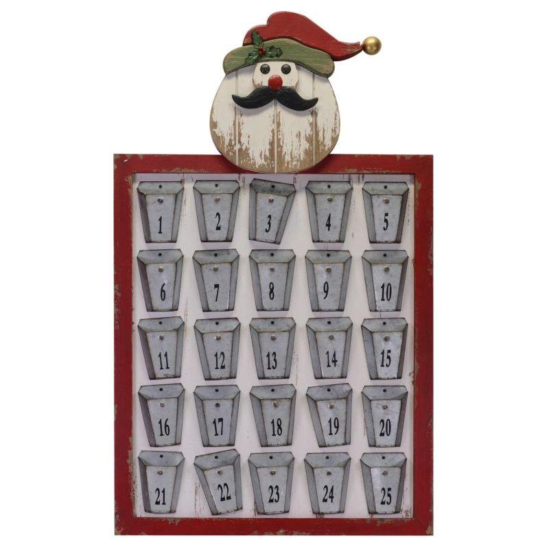 Babbo Natale 50.Calendario Avvento Babbo Natale 50 5x83cm