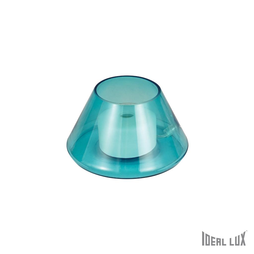 Fiaccola tl1 azzurro ideal lux - Ideal lux lampade da tavolo ...