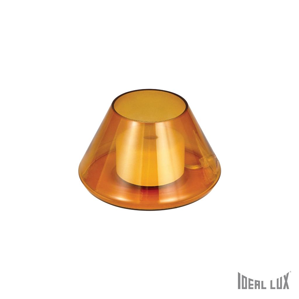 Fiaccola tl1 ambra ideal lux - Ideal lux lampade da tavolo ...