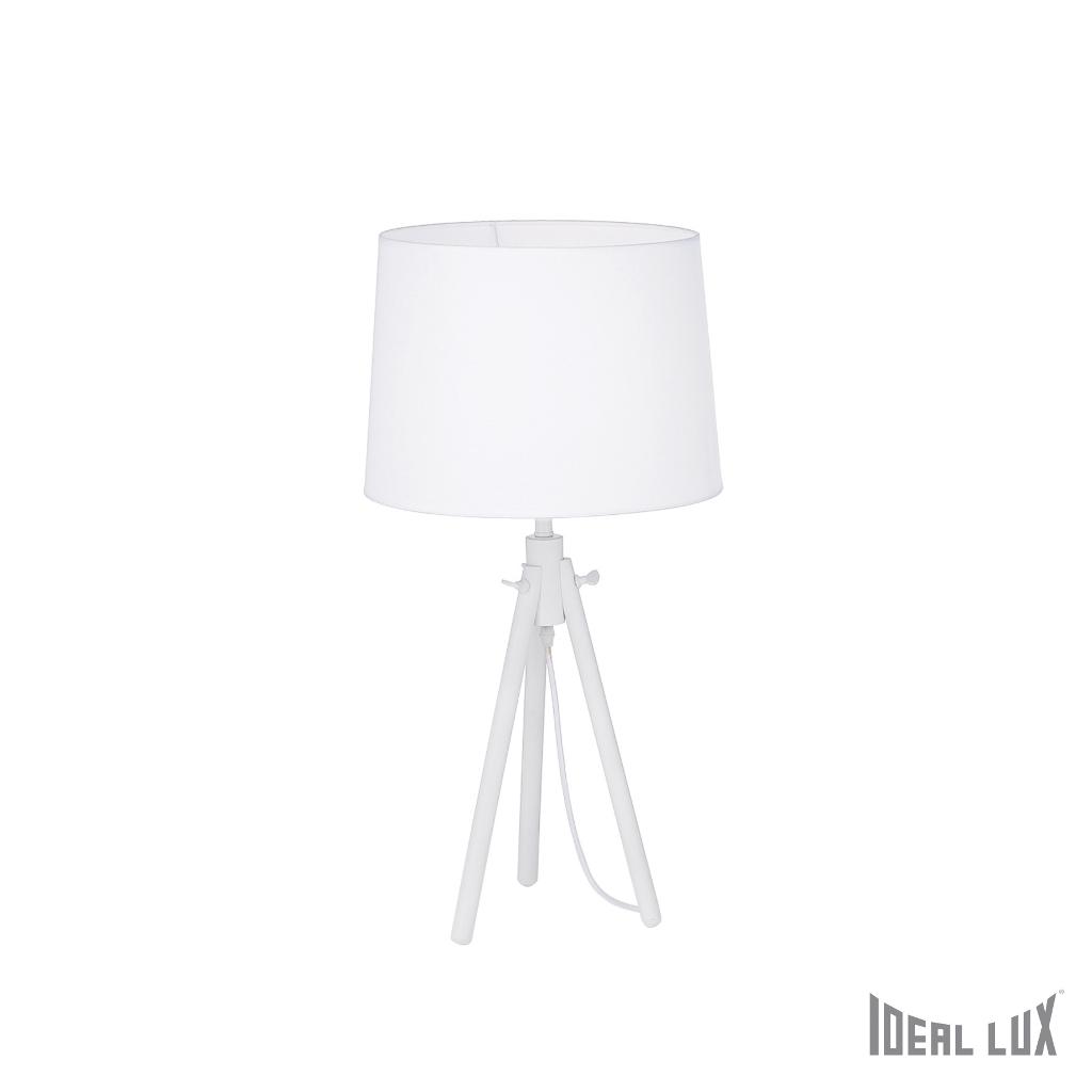 York tl1 big bianco ideal lux - Ideal lux lampade da tavolo ...