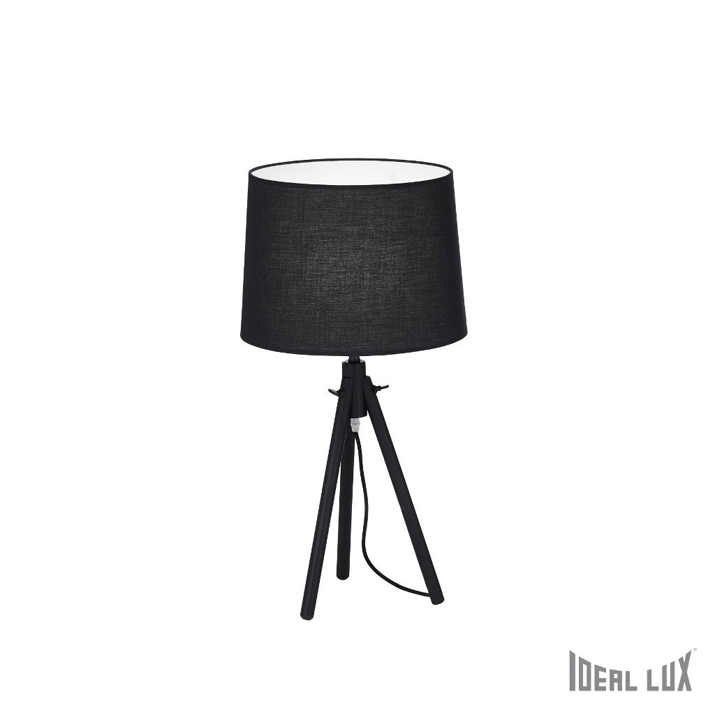 York tl1 big nero ideal lux - Ideal lux lampade da tavolo ...
