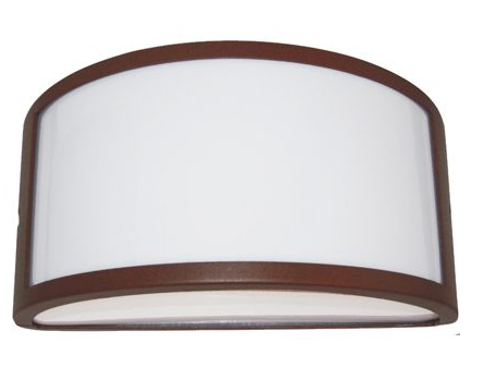 Plafoniera Da Esterno Ruggine : Lampada parete esterno fascia ruggine luci umbe