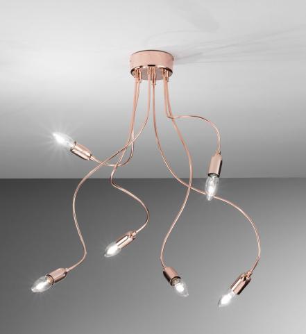 Lampade Con Tubi Di Rame: Lampade Originali In Legno ~ Idee creative di illuminazione e.