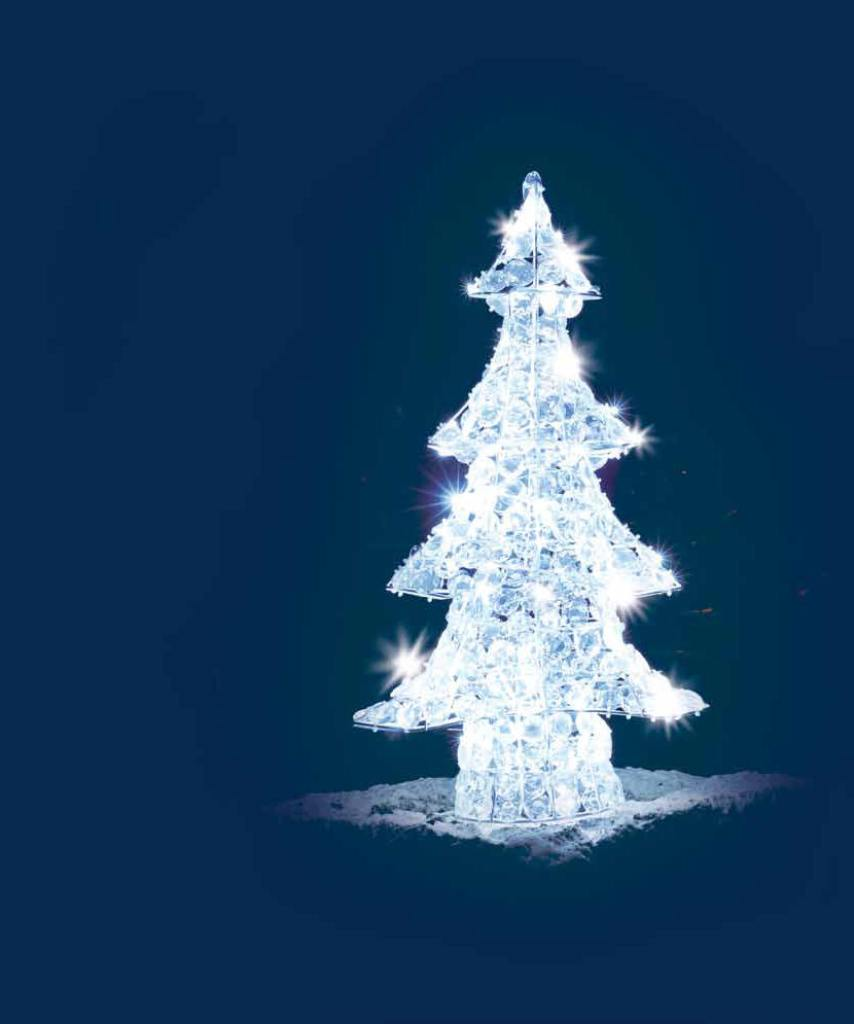 Albero di natale luminoso 120 led xledacptrd120h luci for Albero di natale led