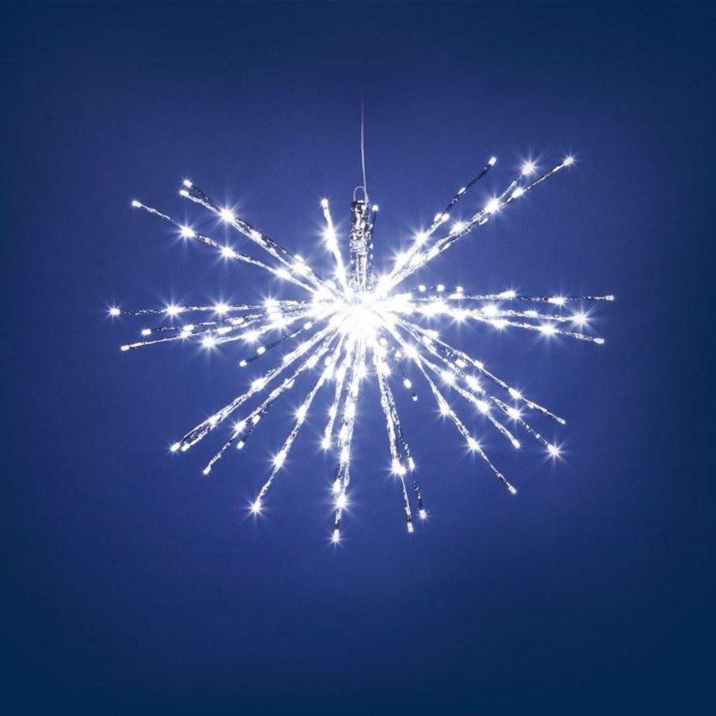Ramo luminoso led flash 31128 twig ball natale for Luci per esterno