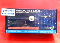 Tenda luminosa led prolungabile luci con flash natale luci e