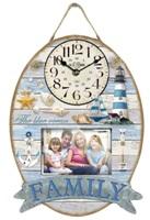 Orologio parete mare 30x40 family 33231