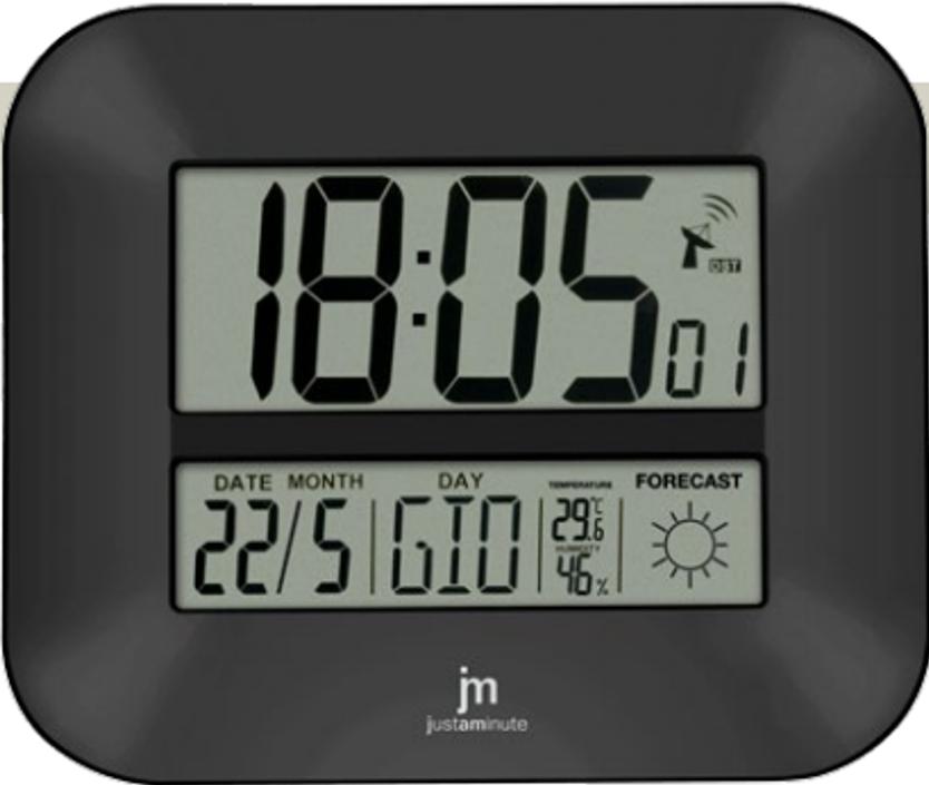 Orologio digitale tavolo e parete radiocontrollato jd9906 for Orologio da parete radiocontrollato