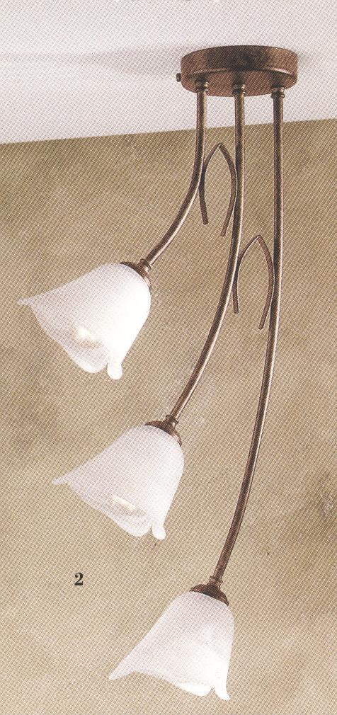 Lampada da soffitto di nardo 91/s3 idea luce di filippi   carrù(cuneo)