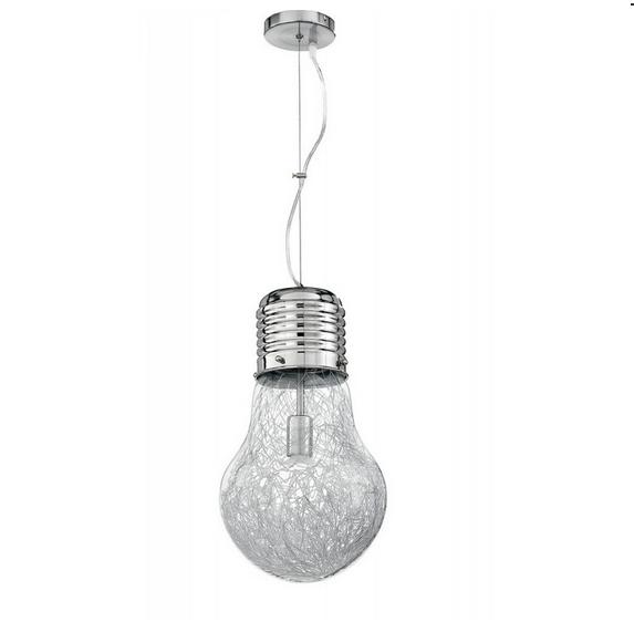 lampadario forma lampadina diametro 30cm 33242 outlet luci