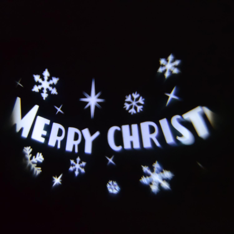 Proiettore Luci Natalizie Per Esterno Negozio.Proiettore Luci Natalizie Merry Christmas Led