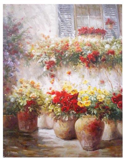 Quadro hl 4406 idea luce di filippi carr cuneo for Vasi di fiori dipinti
