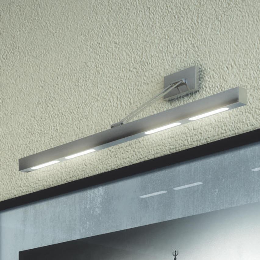 Lampada sopra specchio toplight mirror 1113 ag idea luce - Lampade sopra specchio ...