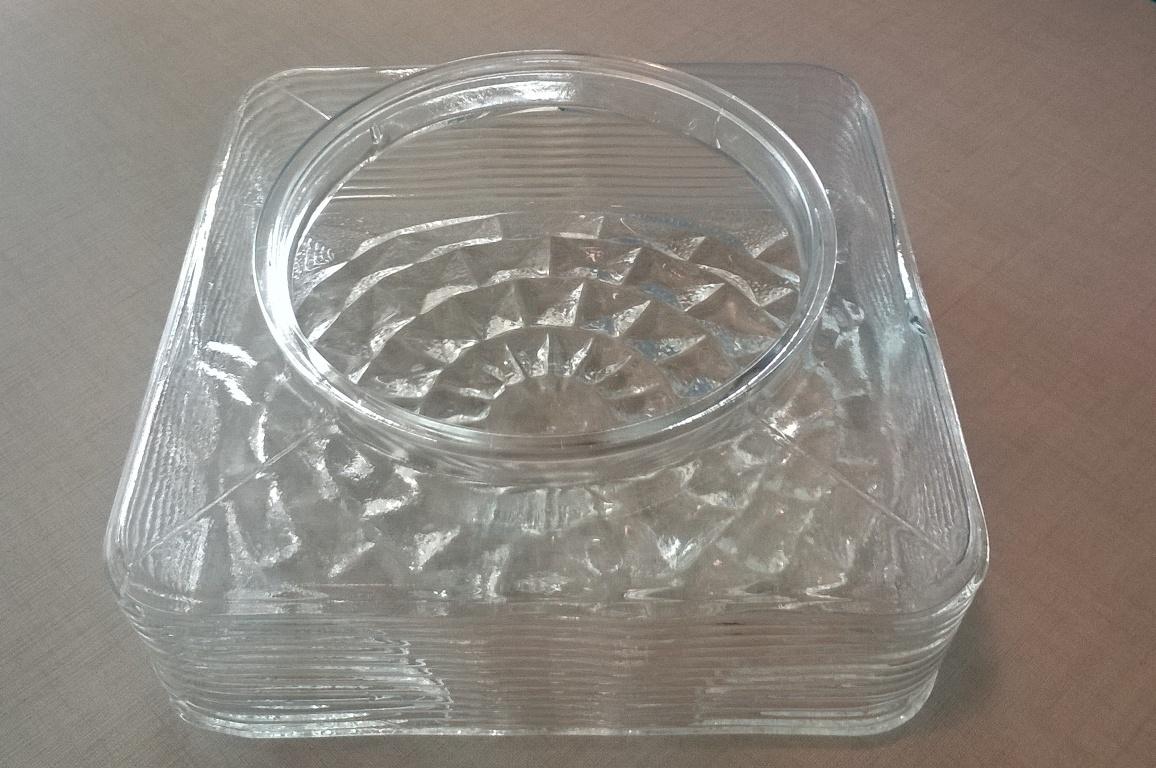 Plafoniera Quadrata Vetro : Vetro ricambio bov idea luce di filippi carrù cuneo